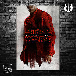 Постер Star Wars: Last Jedi (пилот). Размер 60x42см (A2). Глянцевая бумага