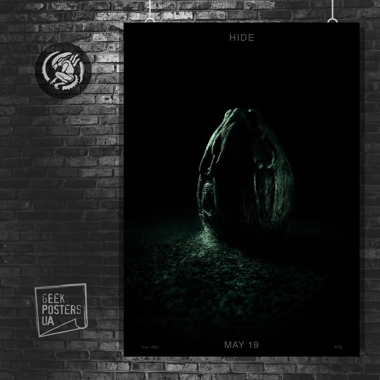 Постер Ковенант, Завет, Covenant. Размер 60x42см (A2). Глянцевая бумага