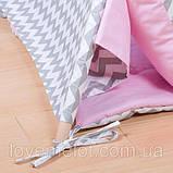 Дитячий намет + килимок + 1 подушка, вігвам для дітей, курінь для діток, намет для дітей, фото 2