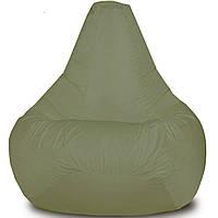 Кресло-мешок Груша Хатка детская Хаки