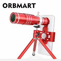 Оптический телескоп Orbmart с креплением для смартфона