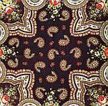 На крыльях памяти 1843-17, павлопосадский платок шерстяной  с шелковой бахромой, фото 9