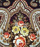 На крыльях памяти 1843-17, павлопосадский платок шерстяной  с шелковой бахромой, фото 7