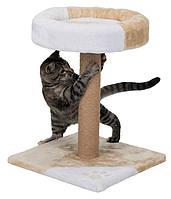 Когтеточка для кошек Tarifa 52 см бежевая/белая Trixie 43712