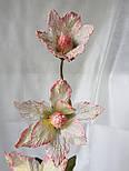 Ветка из фатина 3  цветка, фото 4