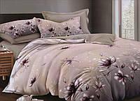 Комплект постельного белья евро-размер с изысканными лилиями