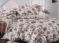 Комплект уютного постельного белья евро-размер