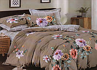 Комплект элегантного постельного белья евро-размер