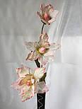 Ветка из фатина 3  цветка, фото 3