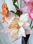 Ветка из фатина 3  цветка, фото 6