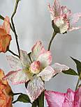 Ветка из фатина 3  цветка, фото 8