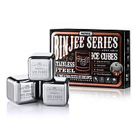 Набор для виски Remax Binjee series stainless ice cubes silver