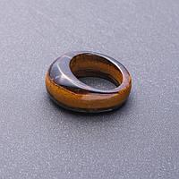 Кольцо перстень из натурального камня Тигровый глаз