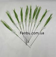 Для интерьера -пучок зеленой травы,искусственная зелень(1 набор-10шт), фото 1