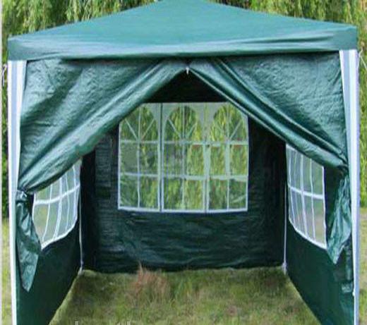 Садовая палатка, туристический тент, шатер для дачи 3х3м (4 стенки) Welfull