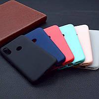 Матовый силиконовый чехол Xiaomi Mi A2 Lite / Redmi 6 Pro Matte (Сяоми Ксиаоми Ми А2 Лайт / Редми 6 Про)
