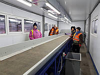 Сортувальна лінія твердих побутових відходів для селищ та міст, фото 1