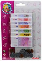 Набор игрушечных денег Евро, Simba (452 8647)