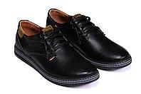 Мужские кожаные туфли Levis Stage 1 реплика