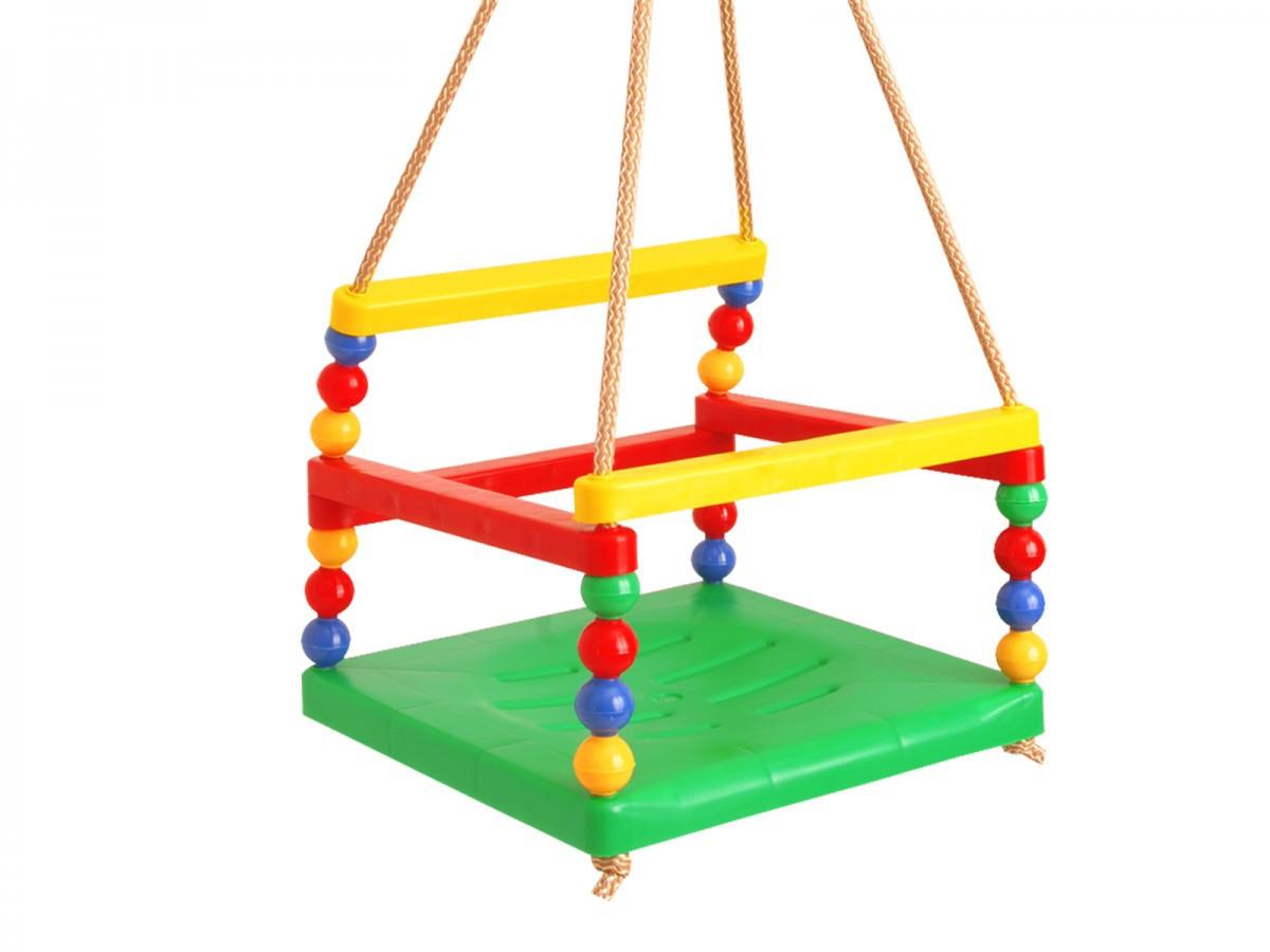 Гойдалка дитяча, підвісна, колір в асортименті, Технок 0052