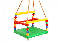 Гойдалка дитяча, підвісна, колір в асортименті, Технок 0052, фото 1