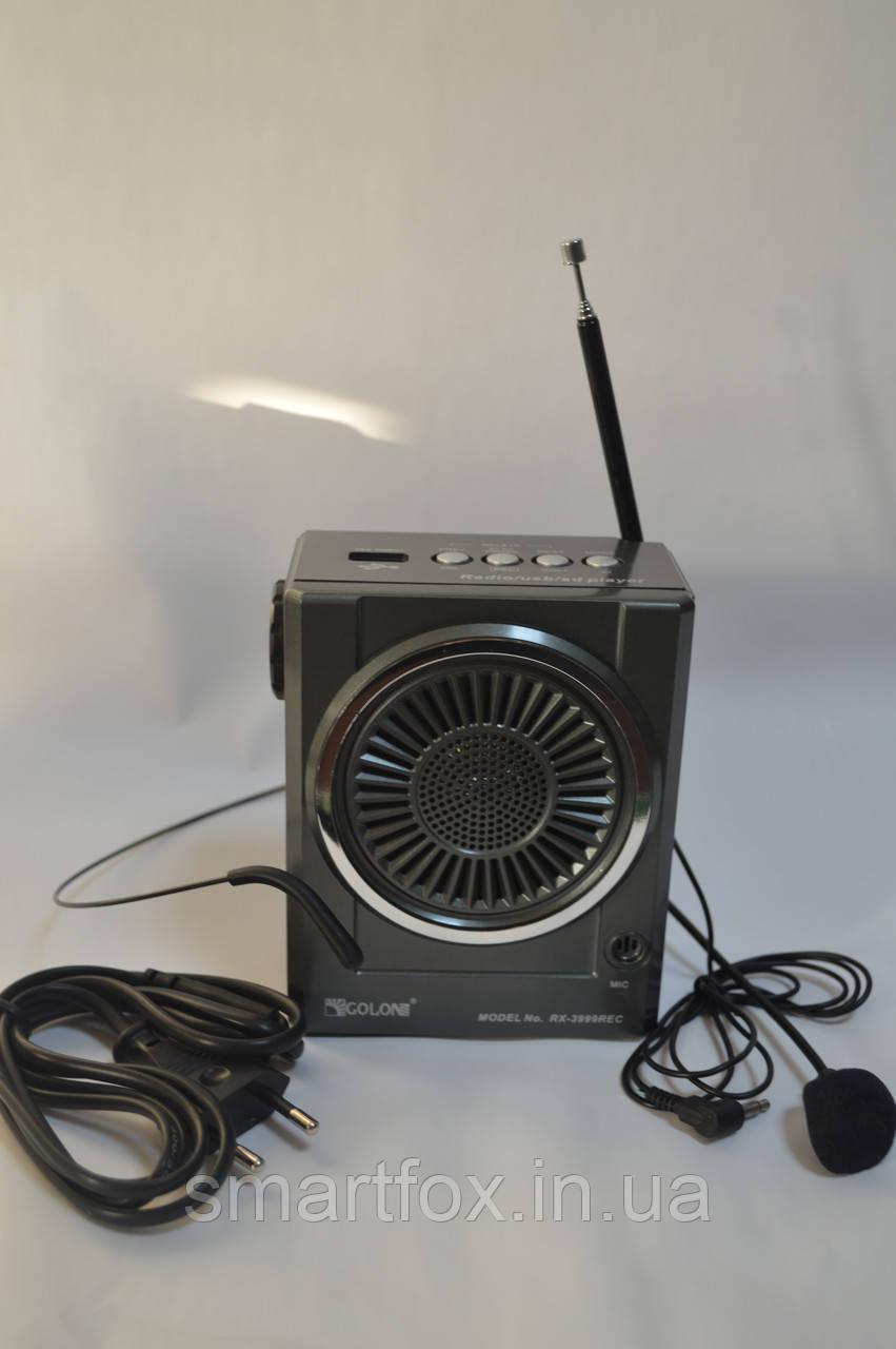 Колонка портативная RX-3999 REC COLON