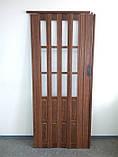 Двери ширма. Для кладовки, шкафчика, коммуникаций  более 6 цветов. Двери ширма (штора), Двери ПВХ., фото 4
