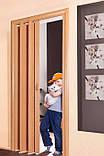 Двери ширма. Для кладовки, шкафчика, коммуникаций  более 6 цветов. Двери ширма (штора), Двери ПВХ., фото 7