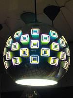Люстра подвесная с 3D эффектом SPECTRUM шар