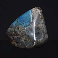 Лабрадор натуральный камень интерьерный сувенир 12х11х5см 1,355кг