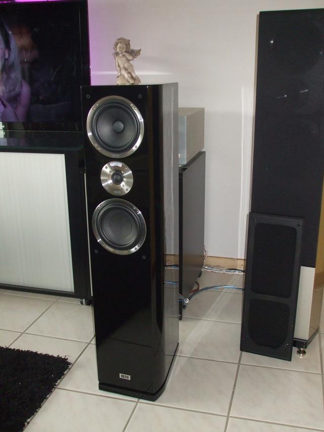 Акустическая система HECO Celan GT 502 HG Black Home Theater