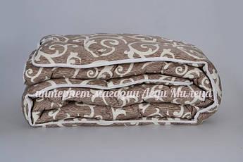 Двухспальное зимнее одеяло овечья шерсть оптом и в розницу, фото 2