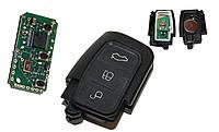 Пульт для выкидного ключа Ford Mondeo, Focus, Fusion 3 кнопки 433MHz чип 4D 63 3M5T-15K601-AB