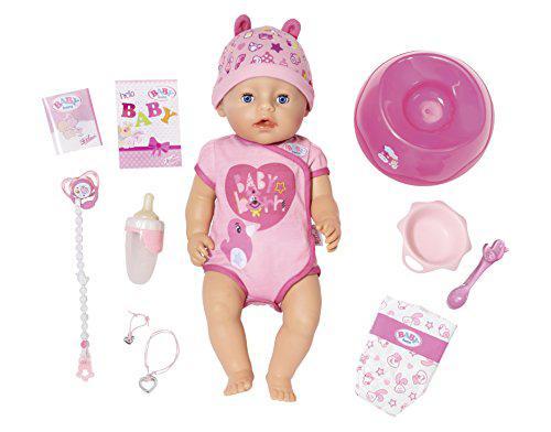 Лялька Baby Born Бебі Борн дівчинка Ніжні обійми чарівна малятко Zapf Creation 824368