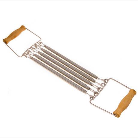 Еспандер пружинний ручка дерево CM-H111