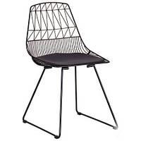 Металлический стул Tiko, каркас черный