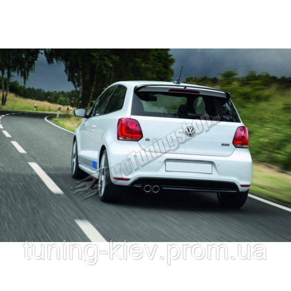 Спойлер Volkswagen Polo MK5 в стиле R WRC