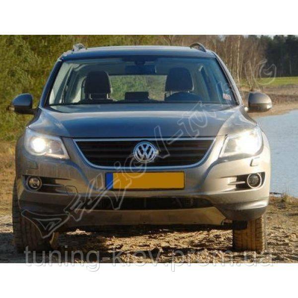Накладка переднего бампера VW Tiguan