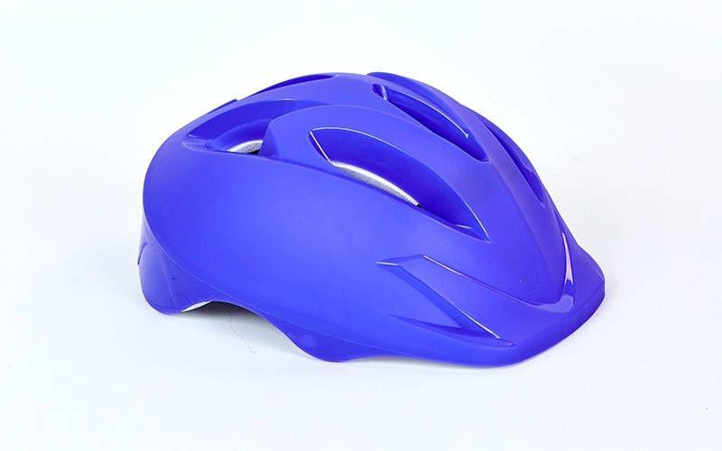 Шлем защитный детский - Фиолетовый р.S-M