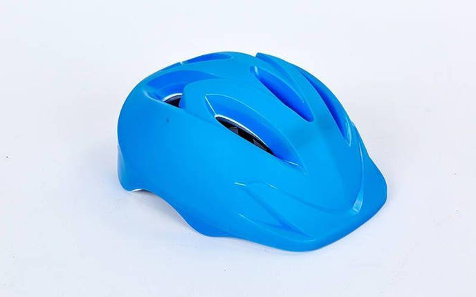 Шлем защитный детский - Синий р.S-M, фото 2