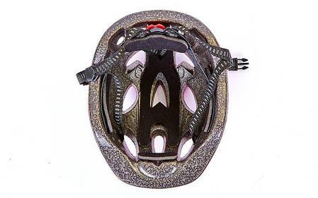 Шлем защитный подростковый - Красный р.L 54-56см, фото 2