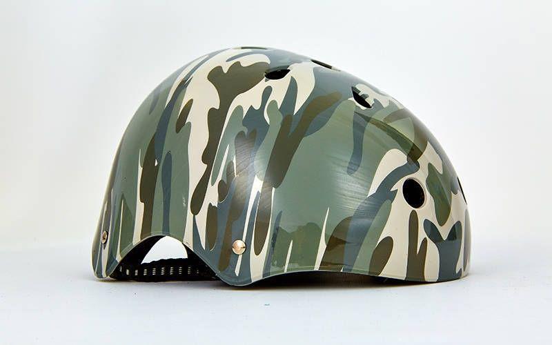 Шлем для экстримального спорта - Камуфляж р. L