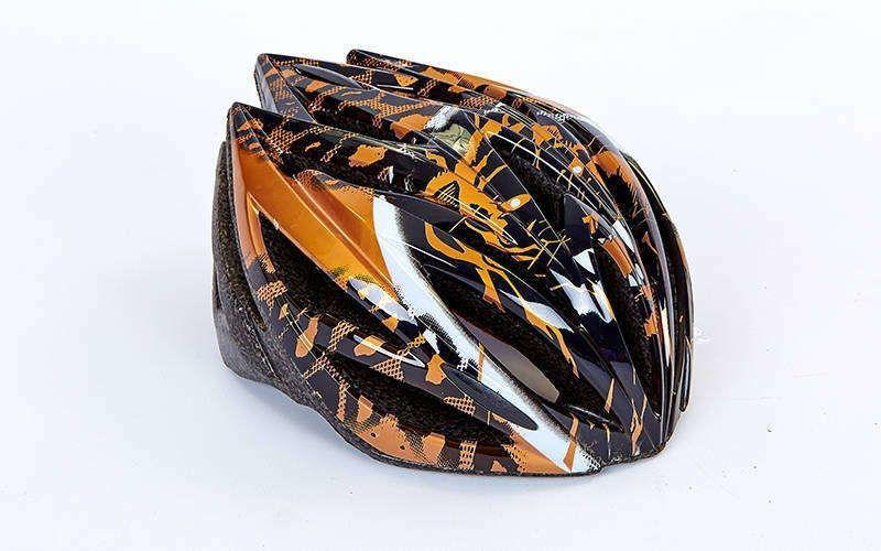 Шлем защитный велосипедный - Gold р. M