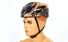 Шлем защитный велосипедный - Gold р. M, фото 3