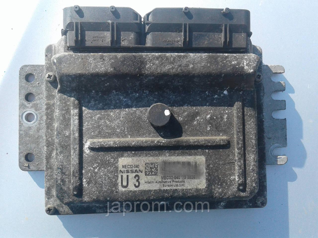Блок управления двигателем Nissan Micra K12 2002-2010г.в. 1.2 16V MEC32-040