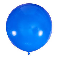 "Шар 24"" LATEX OCCIDENTAL-МК пастель 003 синий"