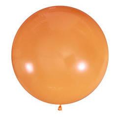 "Шар 24"" LATEX OCCIDENTAL-МК пастель 005 оранжевый*"