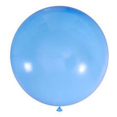 "Шар 24"" LATEX OCCIDENTAL-МК пастель 002 голубой"