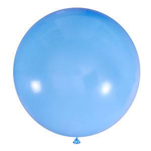 """Шар 24"""" (61 см) Мексика пастель 002 LIGHT BLUE (голубой), фото 2"""