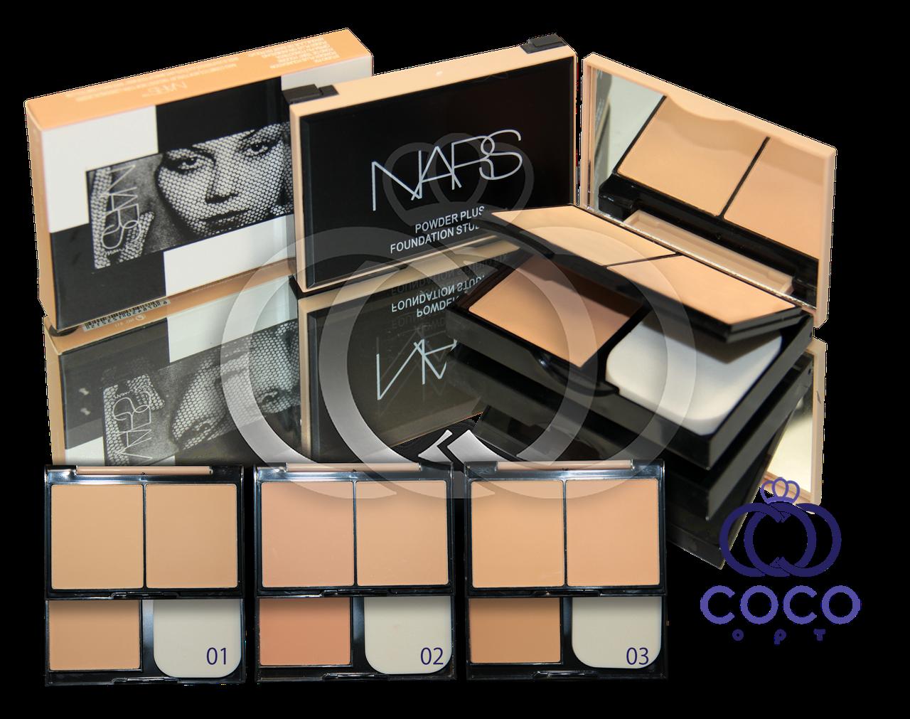 Компактная пудра Nars Powder Plus Foundation Studio Fix